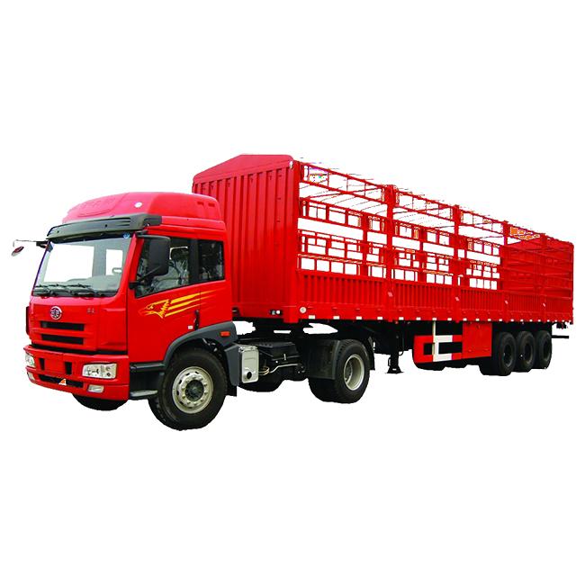 Bunker Grid-type Semi-trailer
